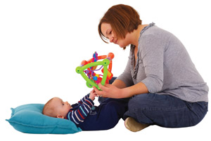 Baby grabbing toy